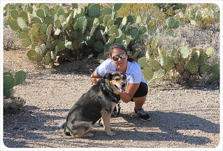 jess and millie in saguaro national park | by globetrottergirls