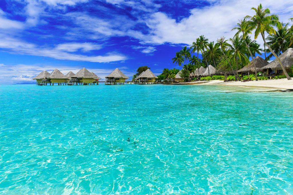 Bora Bora, French Polynesia   Over-water bungalows of luxury…   Flickr