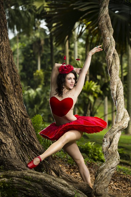 Ballerina of Hearts in WonderLea