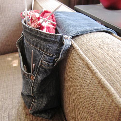 Iron Craft Challenge #14 - Armrest Project Bag | by katbaro