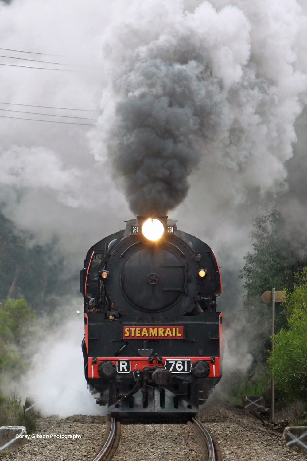 Steamrail R761 by Corey Gibson