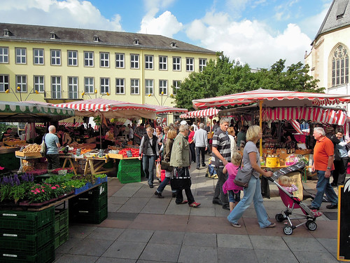 Wochenmarkt Bruchsal