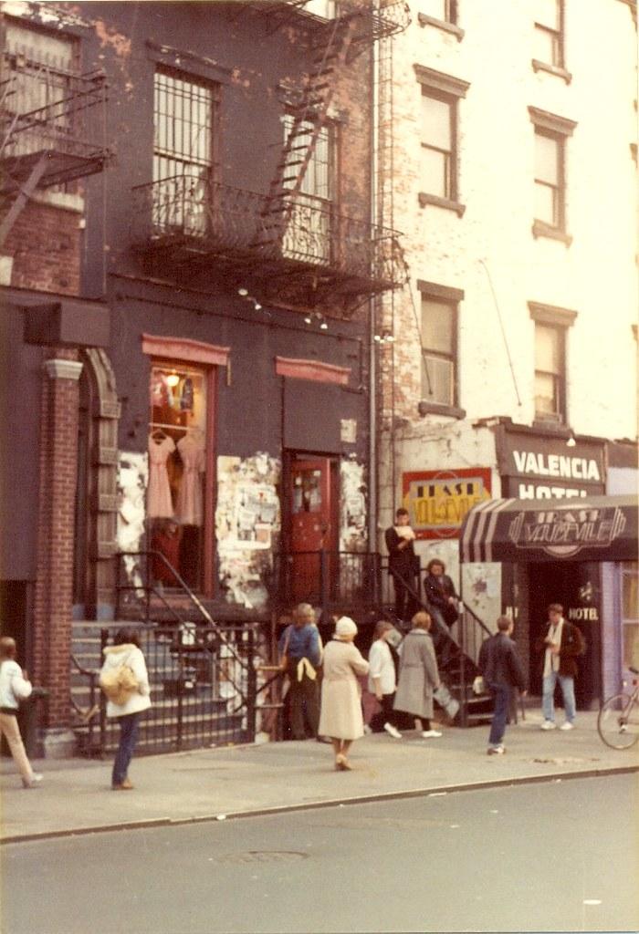 Saint Marks Place, New York City (1982)