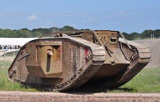 MkIV Male 'War Horse' replica tank