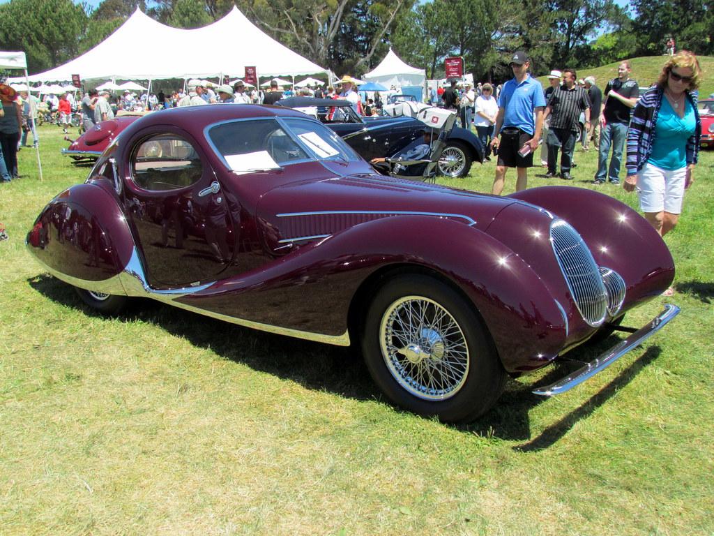 1938 Talbot-Lago T150C SS Teardrop Coupe, coachwork by Figioni & Falaschi