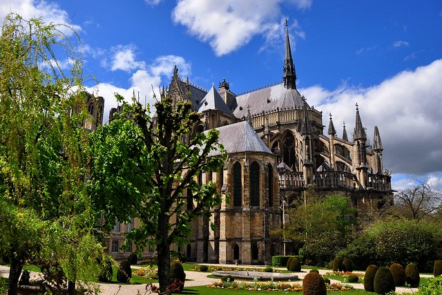 Notre-dame de reims, France (Reims Cathedral) II