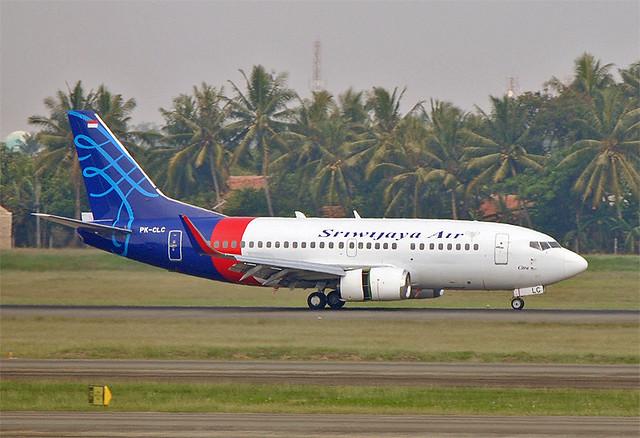 Sriwijaya Air Boeing 737-500 PK-CLC @CGK