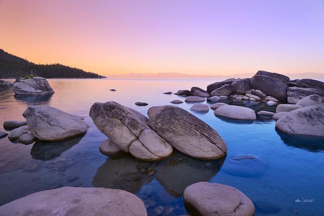 Bonsai Rock Lake Tahoe IV