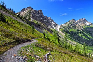Ascending Rock Pass, Pacific Crest Trail, Pasayten Wilderness | by i8seattle