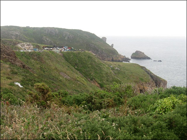 South coast of Alderney