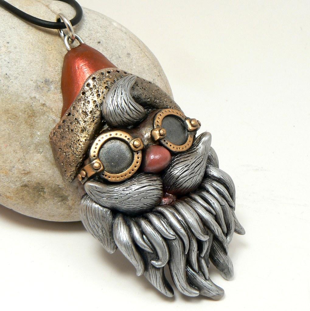 steampunk-goggles-santa-head | steampunk santa with ...