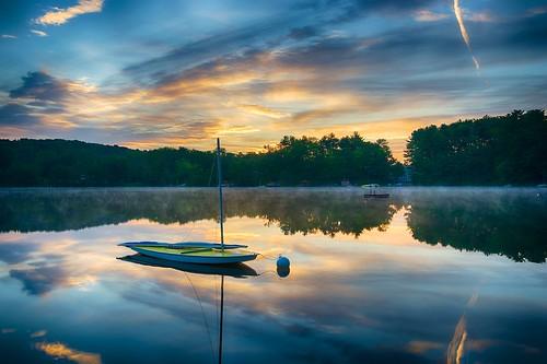 summer sunrise landscape outdoors landscapes nikon outdoor pennsylvania recreation d800 tonemapped wysox borderfx lakewesauking afsnikkor1635mmf4gedvr
