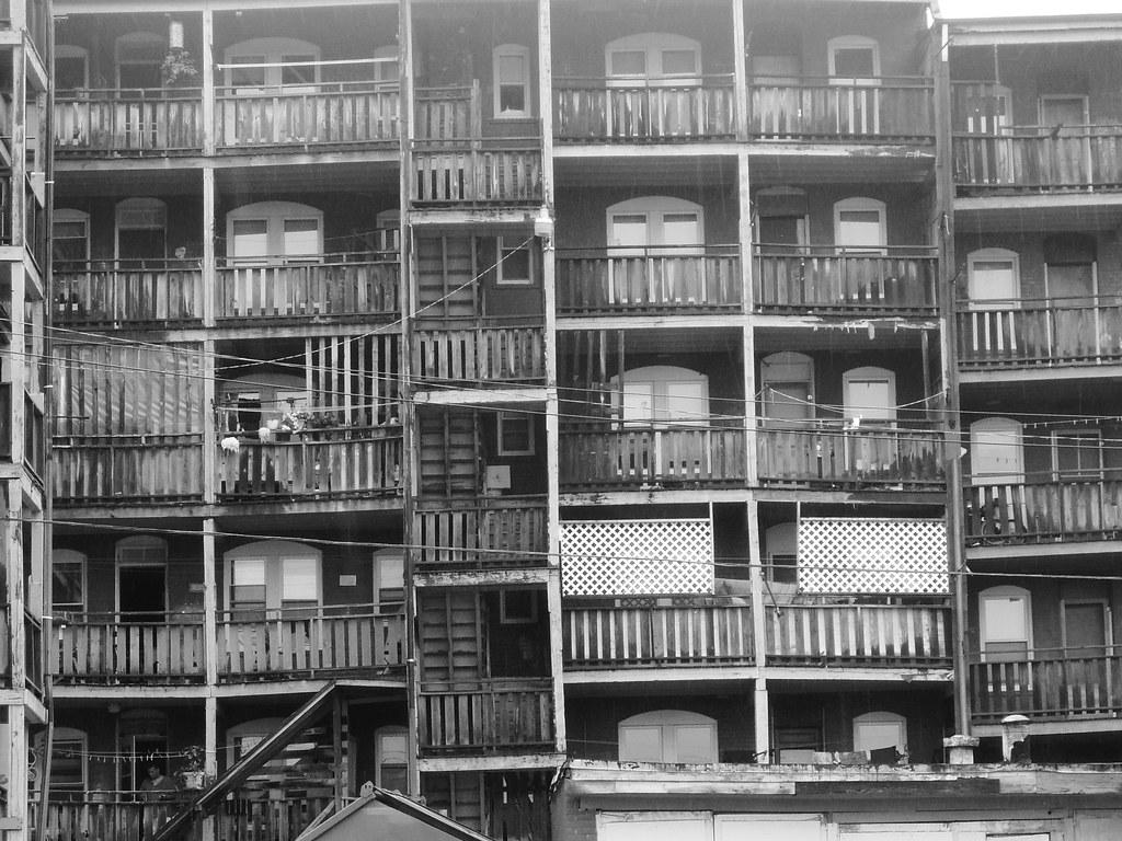 balconies - Holyoke, MA  July 2012