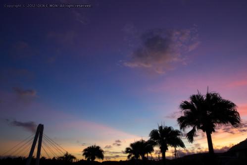 sunset shadow cloud shirasuka