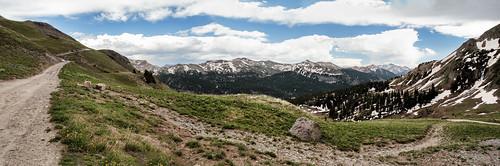 offroad travel trailriding colorado mountains rockymountains sanjuanmountains landscape clouds sky canon eos 6d ef2470mmf28lusm topazlabs green blue exploring explorer