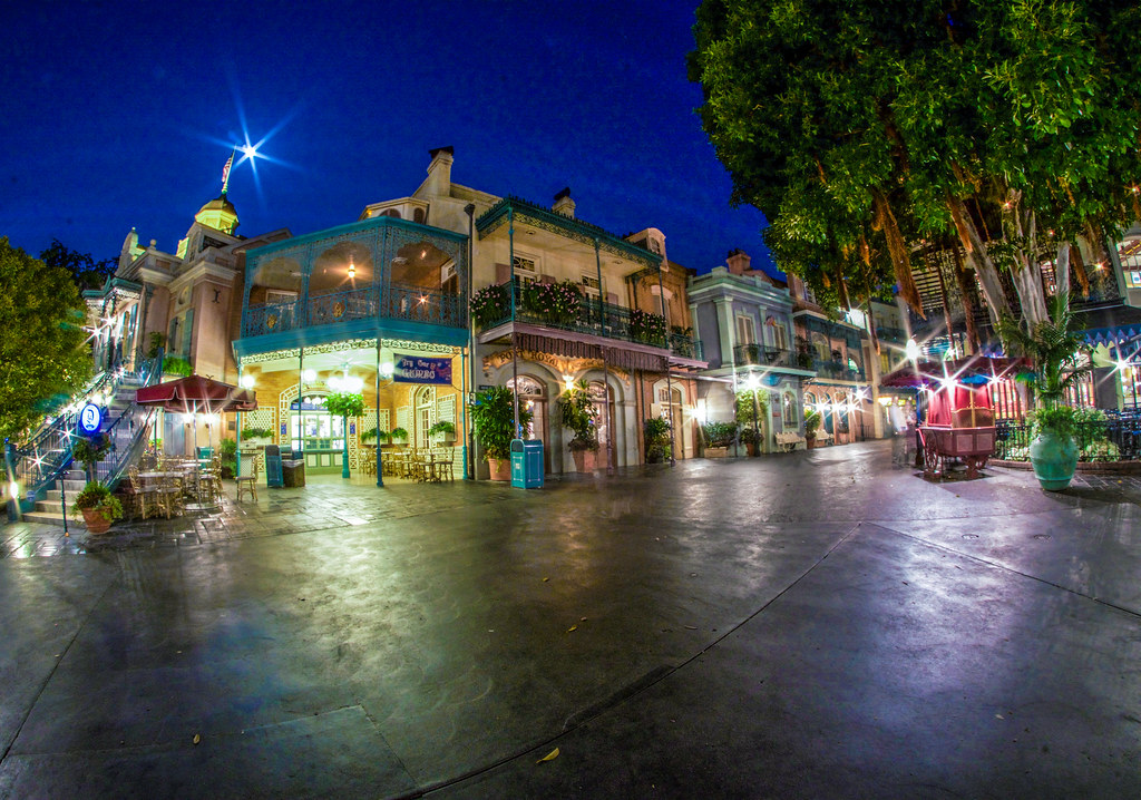New Orleans Square night