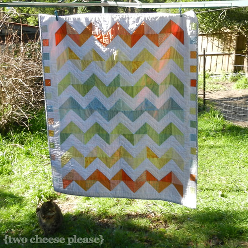 Zig zag quilt 1 | by Two Cheese Please