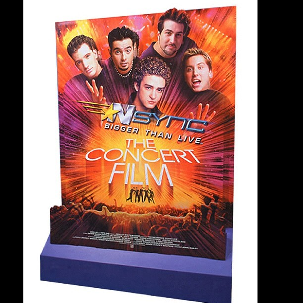 NSync theatrical standee with motion sensor and sound chip…   Flickr
