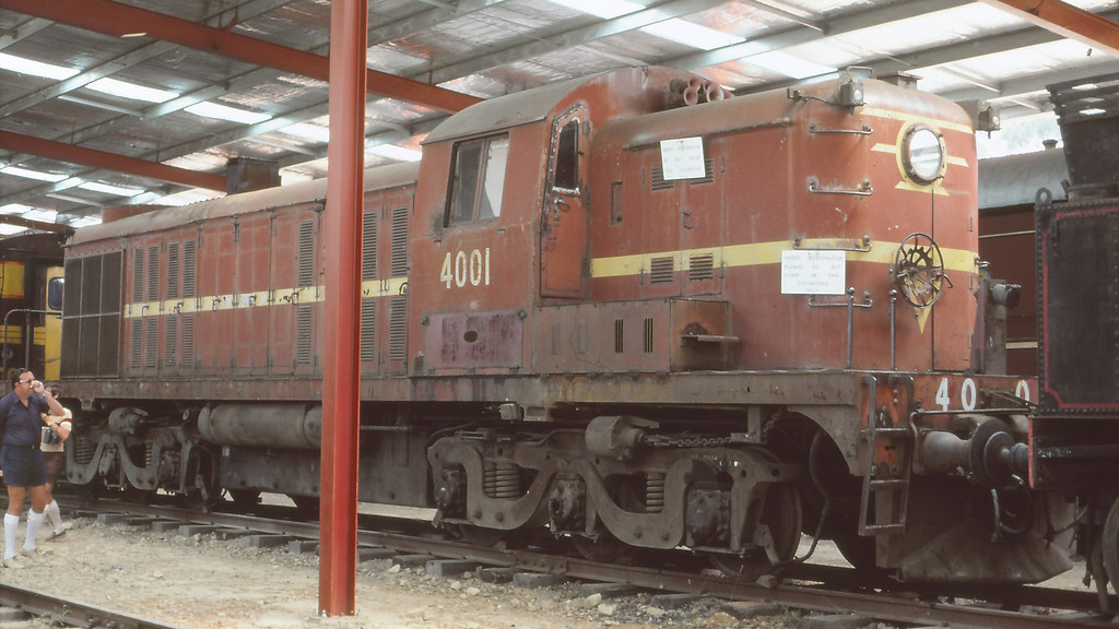 NSWGR_BOX006S05 - 4001 at NSWRTM, Thirlmere by michaelgreenhill