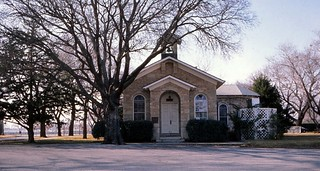 Oklahoma     -      Ft. Sill     -      Old Post Chapel       -      December 1971
