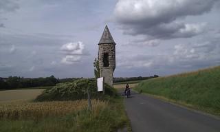 passing L'Echauguette, Vaucelles, FR | by milov