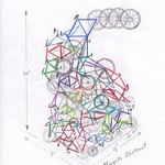 Fri, 23/09/2011 - 8:44pm - Marche's initial sketch of Bike Tower