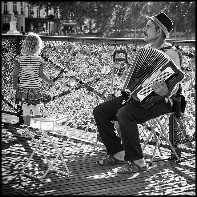 A l'ombre des cadenas d'amour * Paris