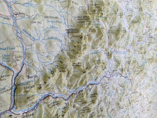 Bas-relief topo map | by rklopfer