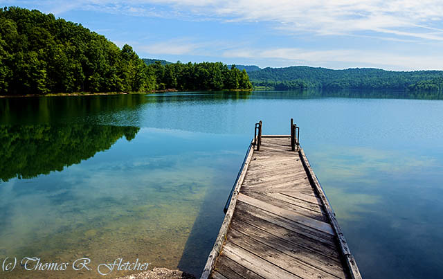 Dock, Summersville Lake ~~ [Explored]