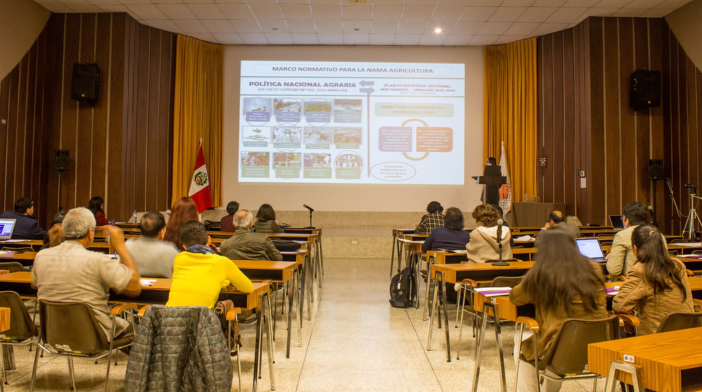 Presentation of the baseline for the design of Coffee Nama in Perú