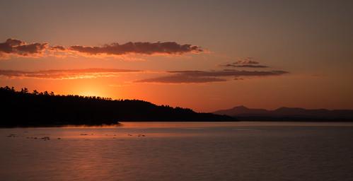 sky usa holiday newyork nature water sunrise canon landscape eos vermont 5d westport lakechamplain greenmountains 5dmarkiii