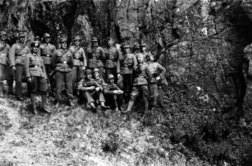 Fra turen til Torghatten - Am Fufse des Torghatten 11.06.1944