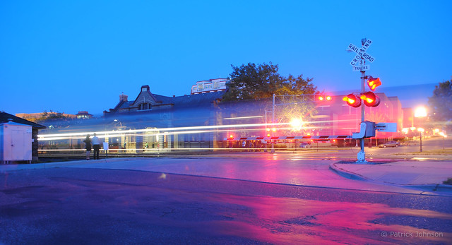 Amtrak Empire Builder arrives in Red Wing