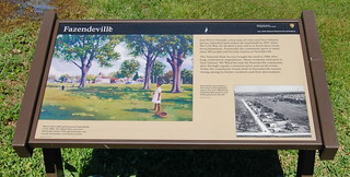 """Fazendeville"" Historical Marker 