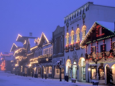 Leavenworth Lights | by ospreyraftingco