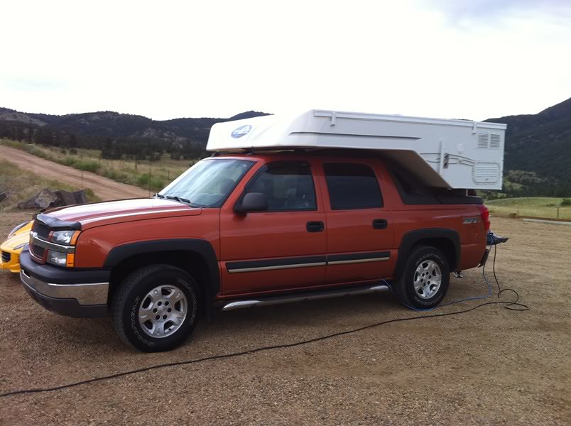 Avalanche 20 Chevy Avalanche Slide In Camper Offroadcamperguy