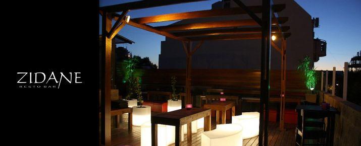 Terraza Lounge Zidane Villa Del Parque Zidane Resto Bar