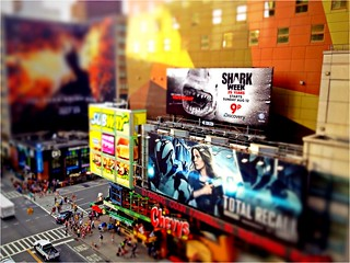 Times Square tilt-shift | by zonalpony