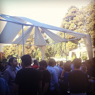 fun crowd at the @googleventures summer BBQ this eve! #latergram | by sarahwulfeck