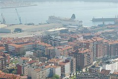 Bilbao and port