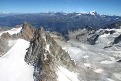 Extreme Environments - Arêtes, Glaciers and Cirques - Plateau du Trient and Glacier du Trient, France