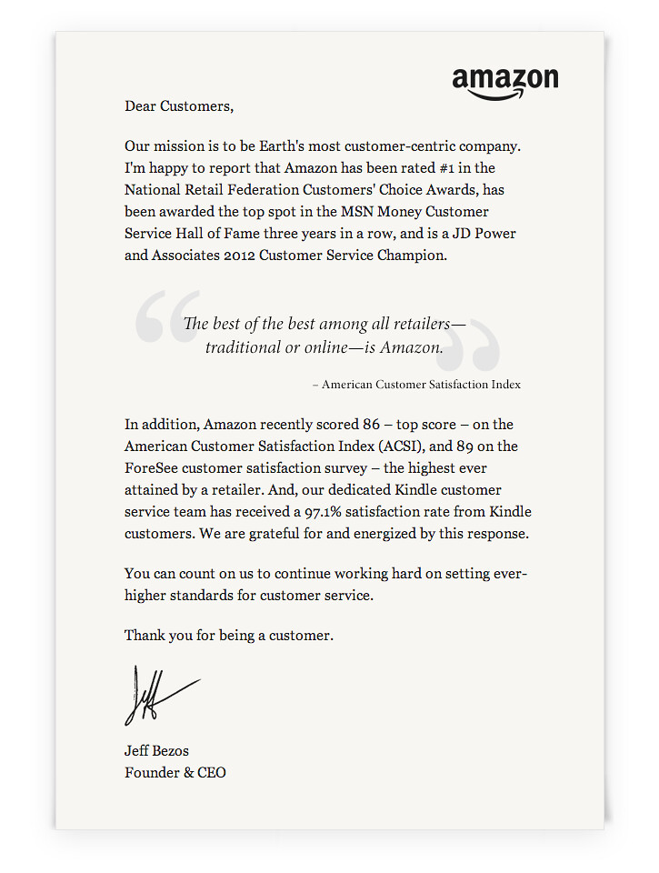 letter from jeff bezos