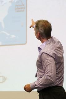 John Eade at the invitation to OR2013 on Prince Edward Island