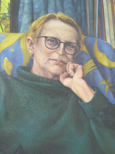 Portrait of Margaret Mahy by Glenda Randerson