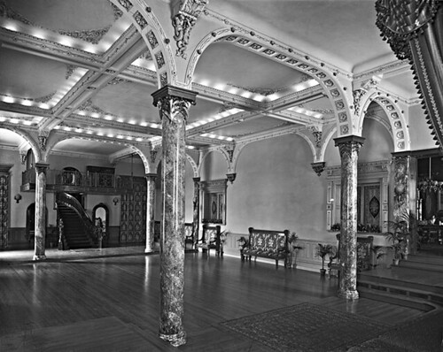 Ballroom, Mr. Baumgarten's house, Montreal, QC, 1904 | by Musée McCord Museum