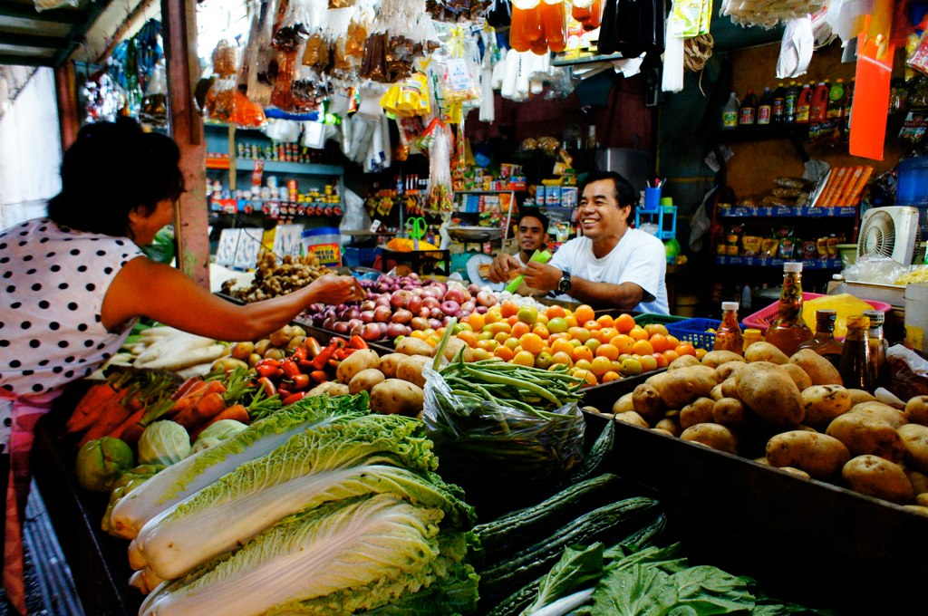 菲律賓菜市場