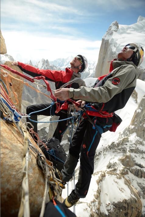 Mammut Peak Project - David Lama on Trango Tower | Photo: Co