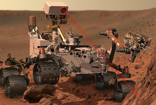 Mars rover depends on three LANL technologies