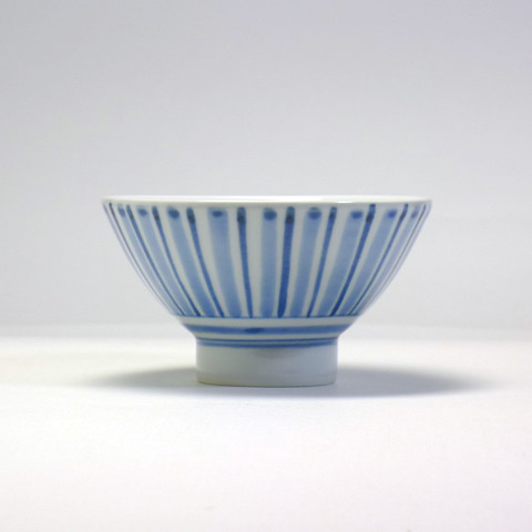 砥部焼 陽貴窯「茶碗/ストライプ」 | by bazartjp