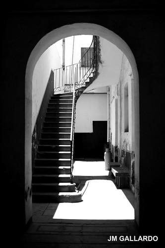 La escalera del fondo - Puebla